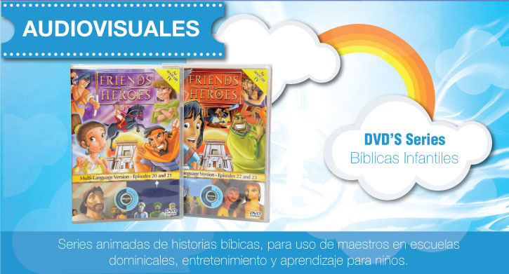 Audiovisuales bíblicas infantiles