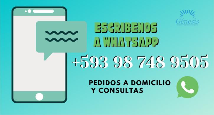 whatsapp libreria genesis