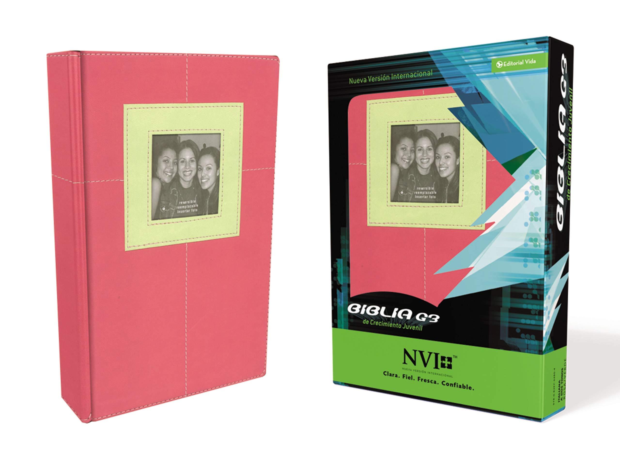 Biblia NVI G3 de Cuero