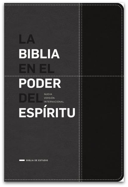 Biblia En el Poder del Espiritu - Negro