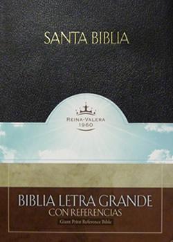Biblia Letra Grande Referencias/Tapa Dura/ Ind