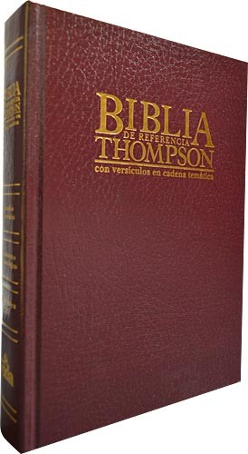 Biblia Thompson Clasica tapa dura