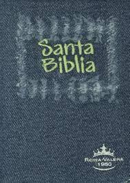 Biblia RVR 1960 Juvenil Jean Verde