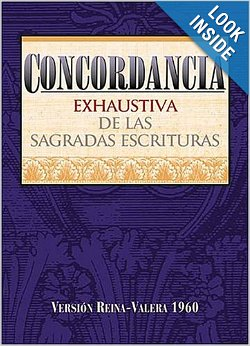 Concordancia Exhaustiva de las sagradas escrituras