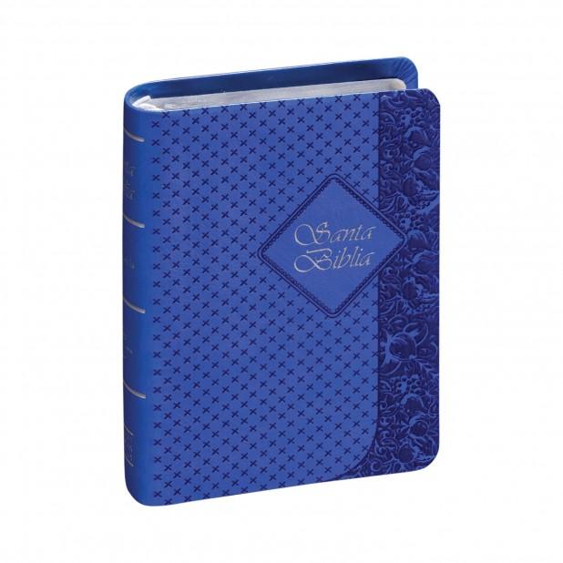 Biblia RVR025CTI Azul