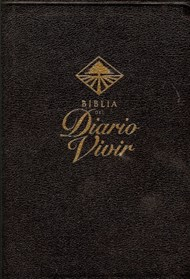 Biblia Diario Vivir Cuero Duotone caja