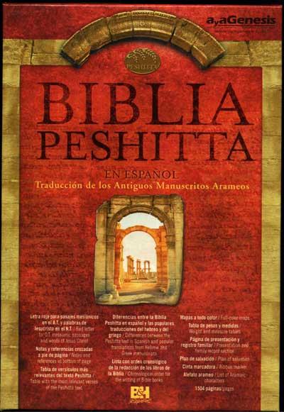 Biblia Peshitta Cuero
