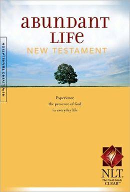 Nuevo Testamento - Ingles abundant life