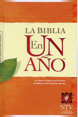 Biblia NTV La Biblia en un año Tapa Dura