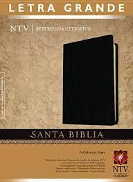 Biblia NTV Letra Grande Referencia