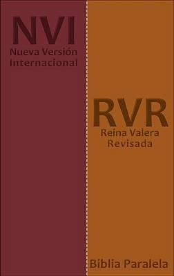 Biblia Paralela NVI/RVR77 Bicolor Cafe/Vino