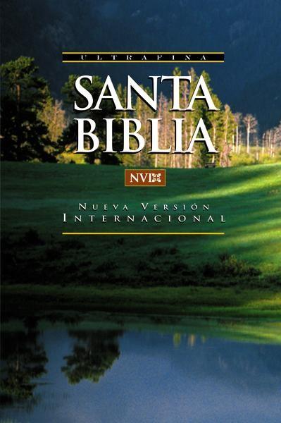 Biblia NVI Ultrafina Tapa Cartulina