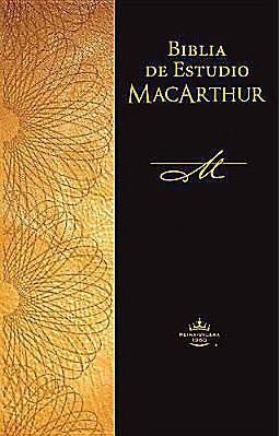 Biblia de Estudio MacArthur Tapa Cartulina>