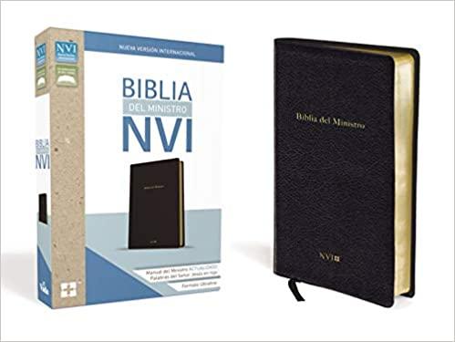 Biblia NVI del Ministro