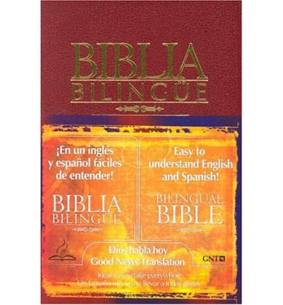 Biblia Bilingue Cuero Vino