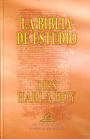 Biblia Dios Habla Hoy con Deuterocanónicos Estudio Tapa Dura