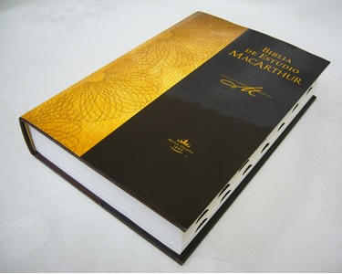 Biblia Macarthur Tapada Dura Indice