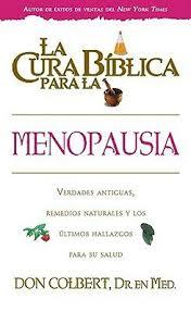 La cura bíblica para la menopausia