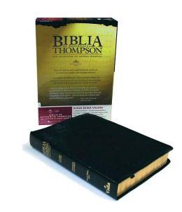 Biblia Thompson de Referencias Caja Cuero