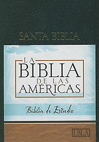 Biblia de las Américas margen ancho