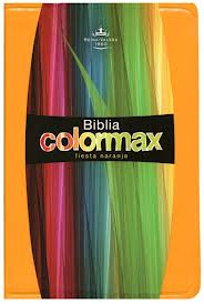 Biblia Colormax Naranja