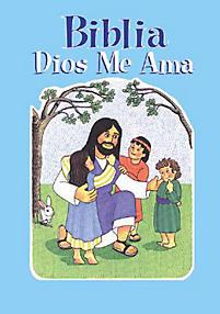 Biblia Dios me Ama Tapa Dura Azul