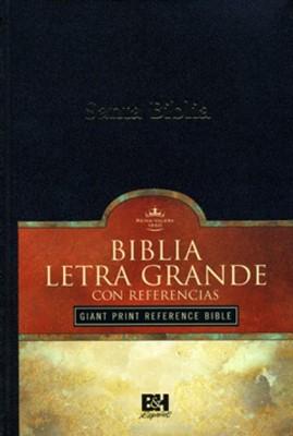 Biblia RVR1909 Letra Grande Tamaño Manual Tapa Dura Negro