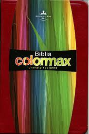 Biblia Colormax RVR60 Color Granate Tamaño Bolsillo Ultrafino