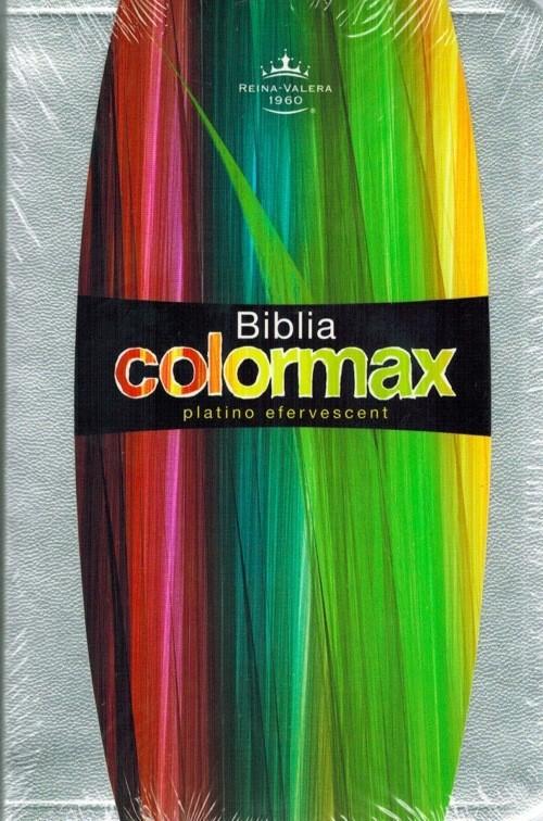 Biblia Colormax RVR60 Color Plata Tamaño Bolsillo Ultrafina