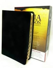 Biblia De Referencia Thompson Cuero Indice Negro Caja