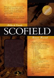 Biblia Scofield Personal - Cuero