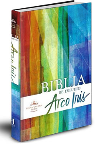 Biblia Arco Iris de Estudio Tapa Dura