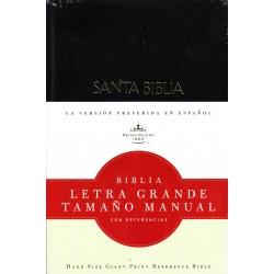 Biblia Letra Grande Manual /Tapa Dura
