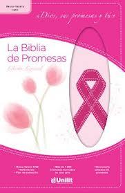 Biblia de Promesas Edición  Especial Cáncer - Cuero