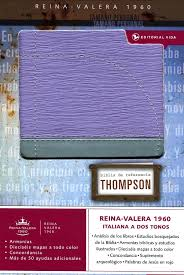Biblia Thompson Personal Morada.>