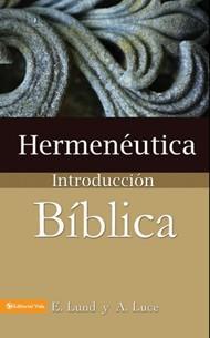 Hermenéutica Introducción Bíblica