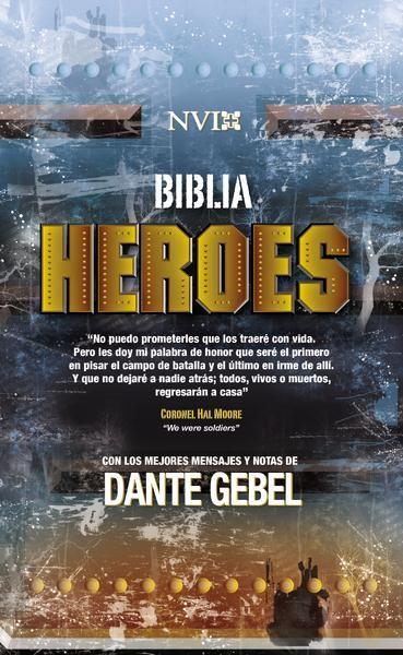 Biblia NVI Heroes Tapa Dura