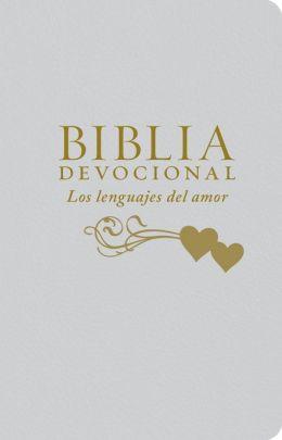 Biblia NTV Devocional Los Lenguajes del Amor/Blanco