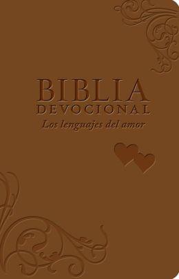 Biblia NTV Devocional Los Lenguajes del Amor/Duotono Marron