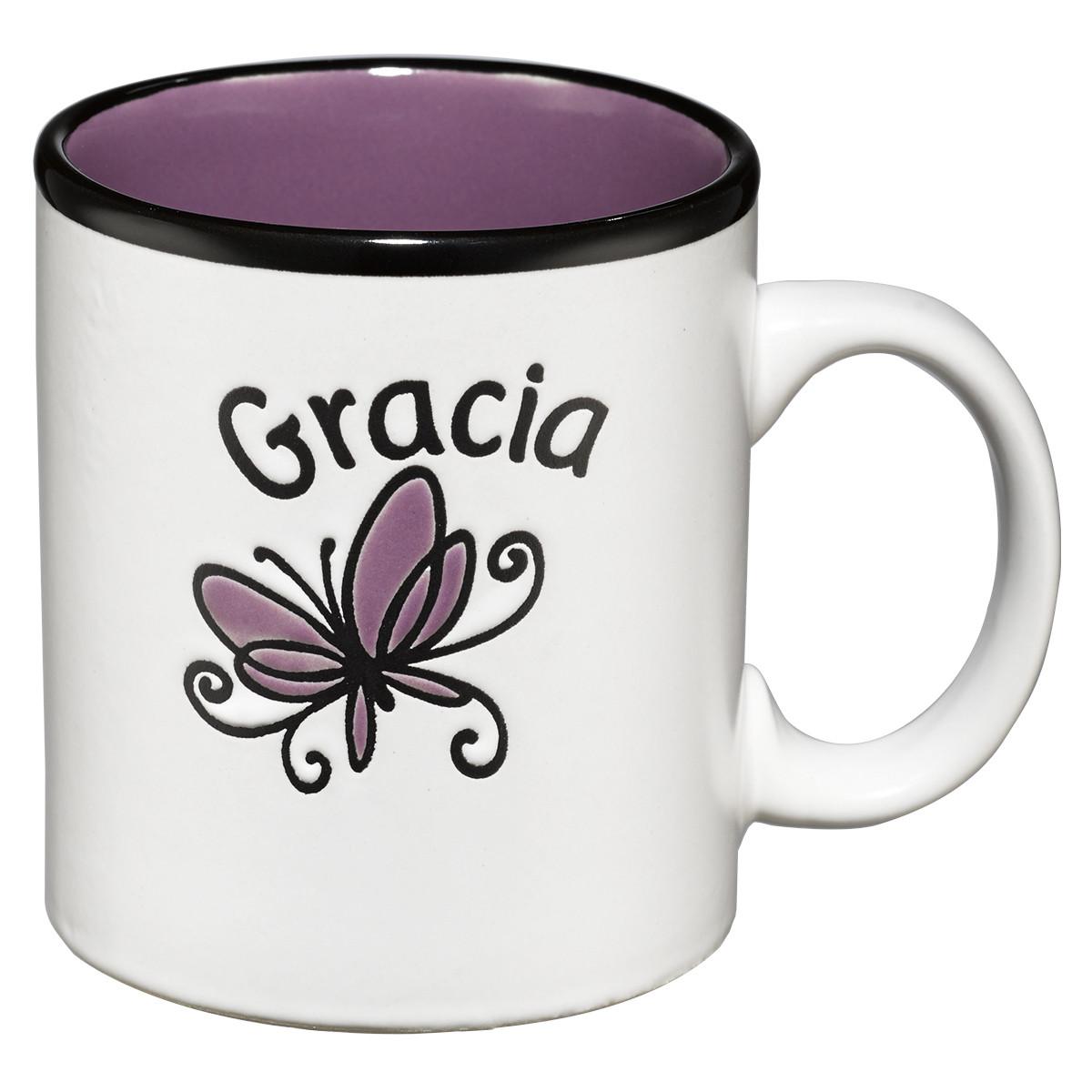 Taza Gracia Morada