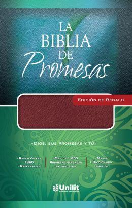 Biblia de Promesas Edicion Regalo/Vino