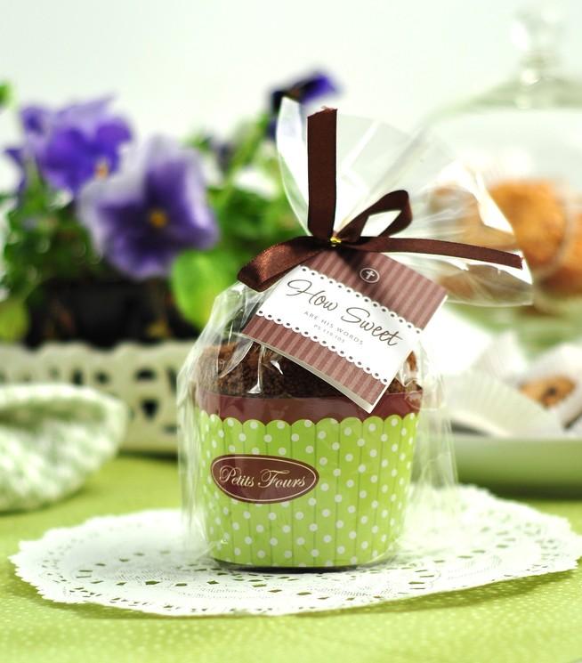 Adorno Cupcake Chocolate