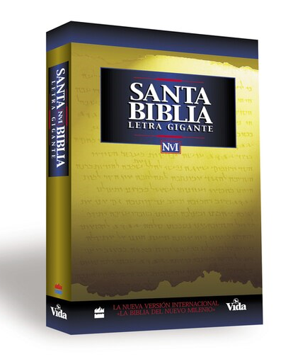 Biblia NVI Letra Gigante