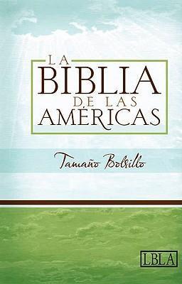 Biblia Ultrafina de las Americas Caja Color Negro Bolsillo