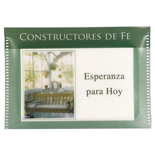 Tarjeta Constructores Esperanza para hoy