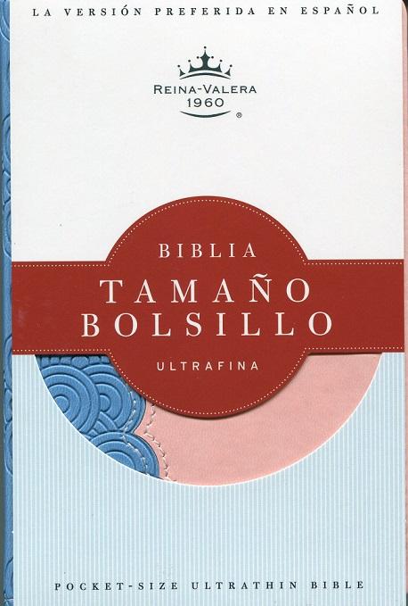 Biblia Ultrafina de Bolsillo/Celeste-Rosa
