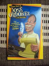 Primer libro de José Ordoñez a los aburridos