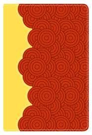 Biblia Letra Grande con Referencias - Tamaño manual - Rojo Ladrillo