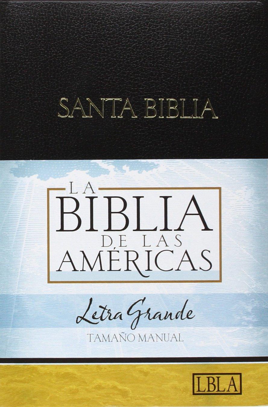 Biblia de Las Américas - Letra Grande - Imitación de Cuero