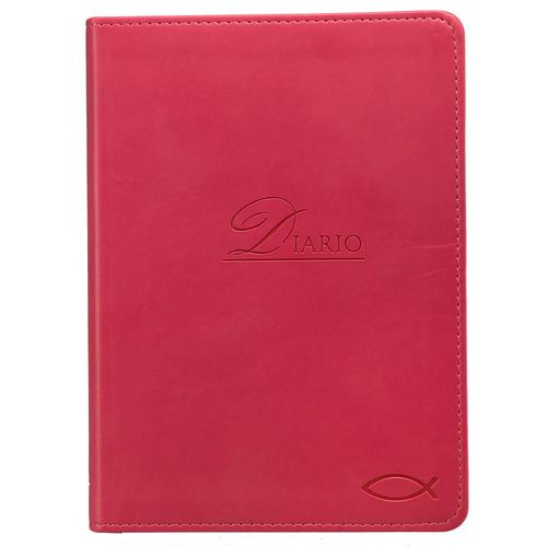 Diario rosado con pez